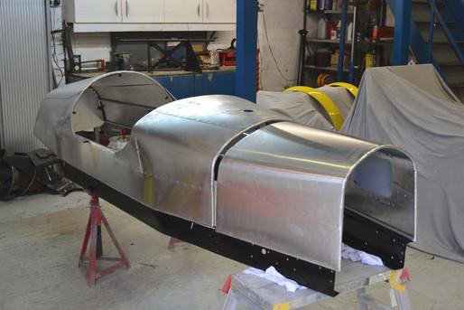 Morgan F Type body