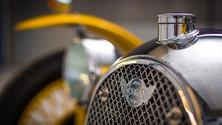 Morgan F type radiator detail