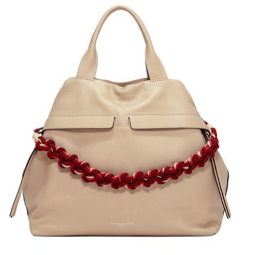GIANNI CHIARINI LARGE TOTE-PEBBLE LEATHER
