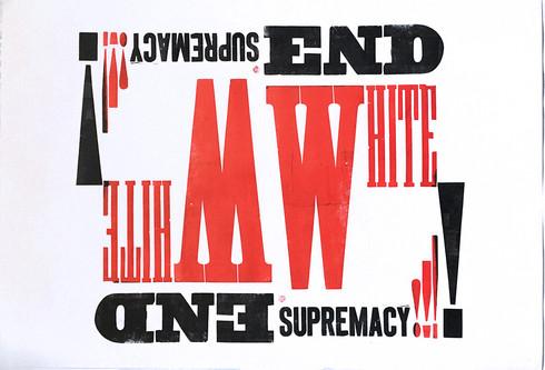 End White Supremacy