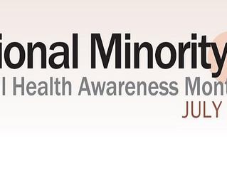 Bebe Moore Campbell National Minority Mental Health Awareness Month