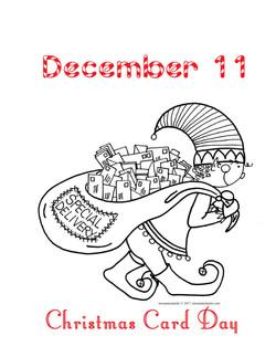 Christmas Card Day