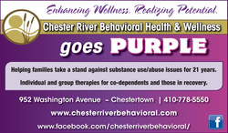 CRBH joins Kent's Purple Brigade
