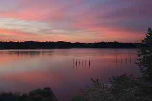 Sunset over Chester River