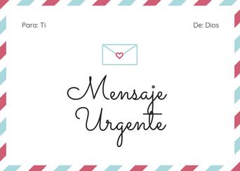 Mensaje Urgente!!!