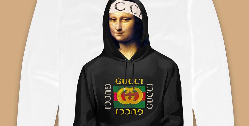 "Mona ""fall drip"" long sleeve top"