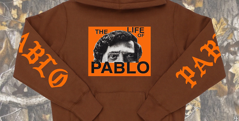 Pablo 2.0 hoodie (chocolate)