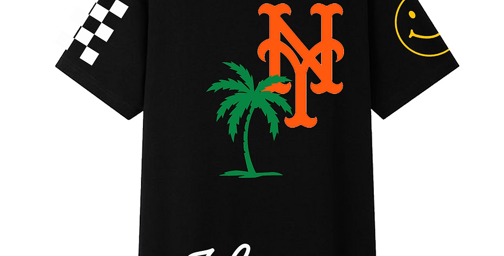Summer In NY T-shirt (Black)