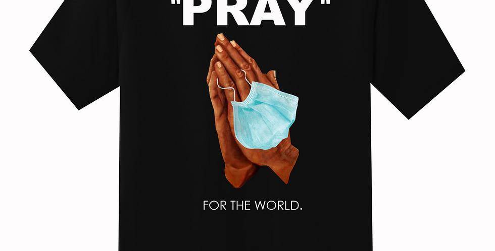 Pray For The world T-shirt (Black)