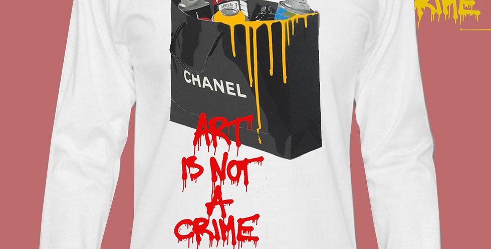 "Art Is Not A Crime ""CC"" Top"