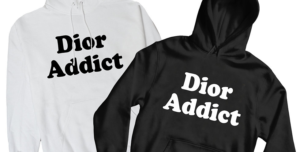 Fashion Addict Hoodies