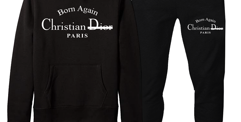 Born Again Joggers (Black)