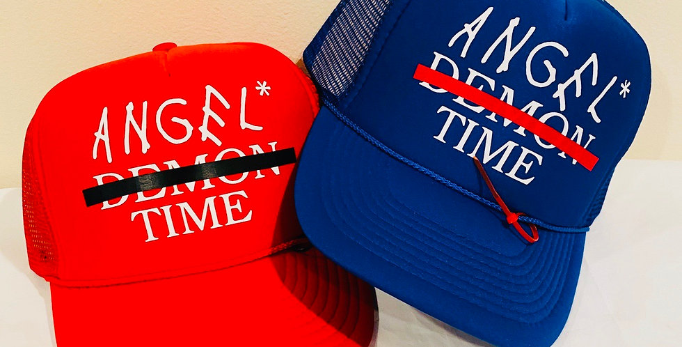 Angel Time Trucker Hat
