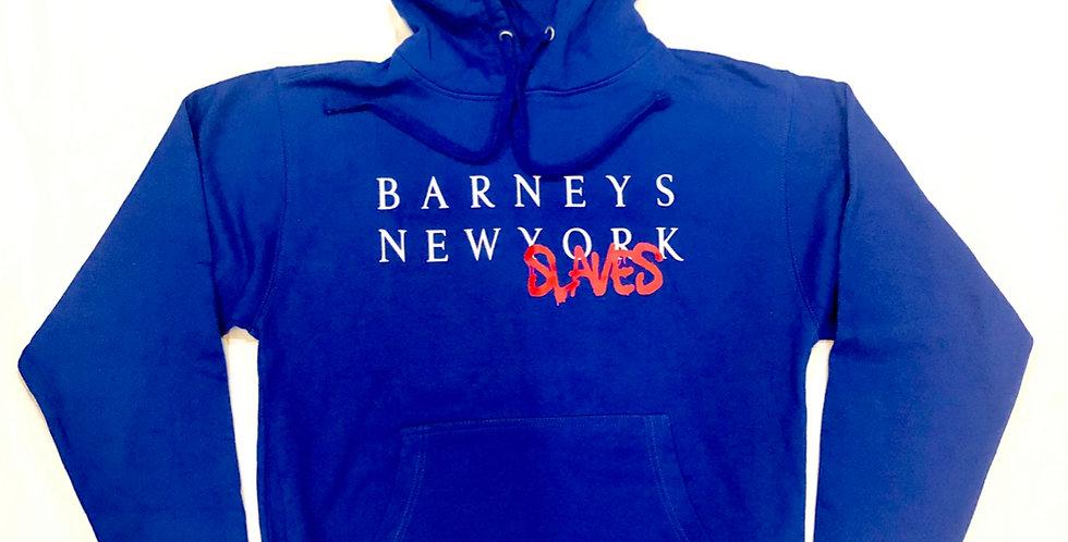 Barneys New Slaves hoodie (Pepsi blue)