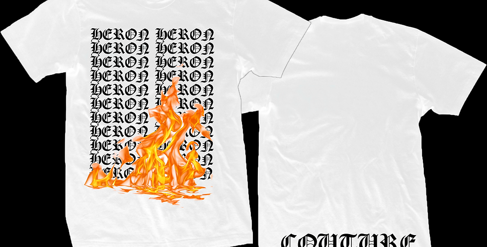 Old English Fire T-shirt