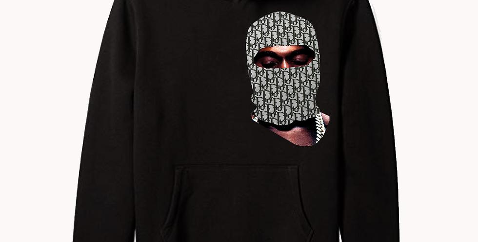 Milan Mask Hoodie (Black)