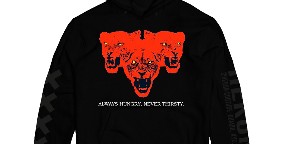 Always Hungry Hoodie (Black)