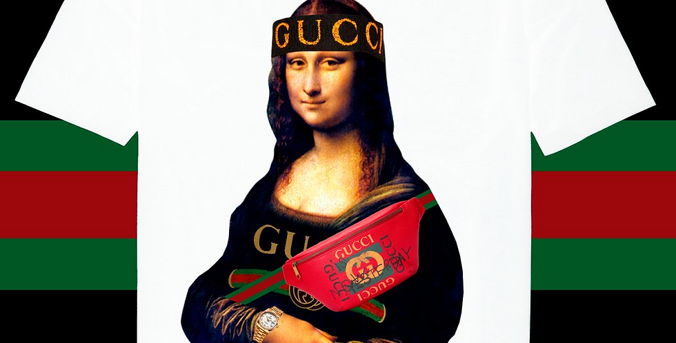 "Mona Lisa ""Bag""t-shirt"