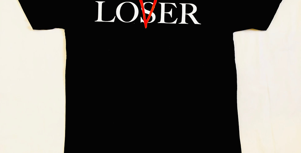 Lovers vs Losers t-shirt (black)