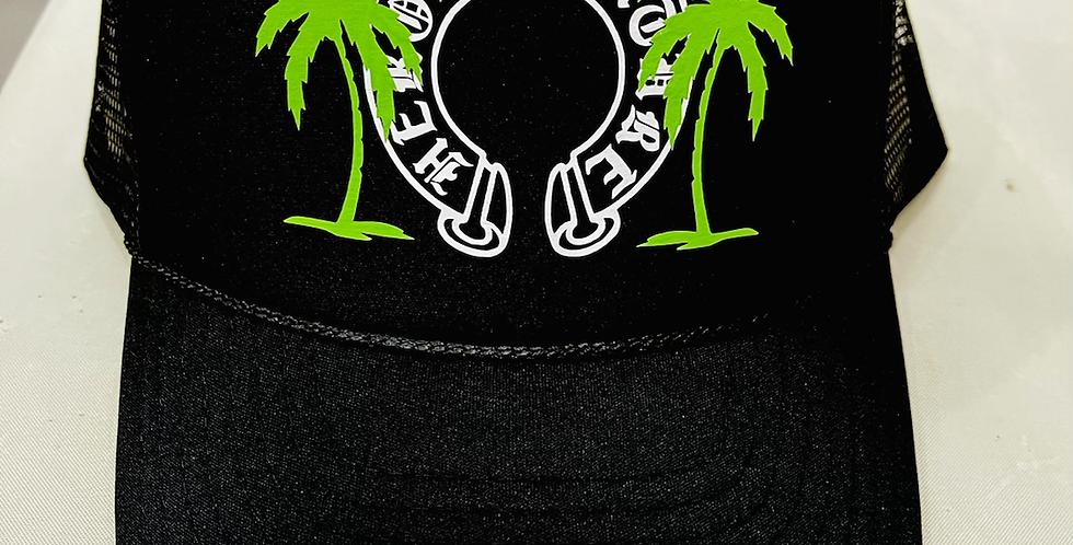 Miami Vice Trucker Hat (Black)