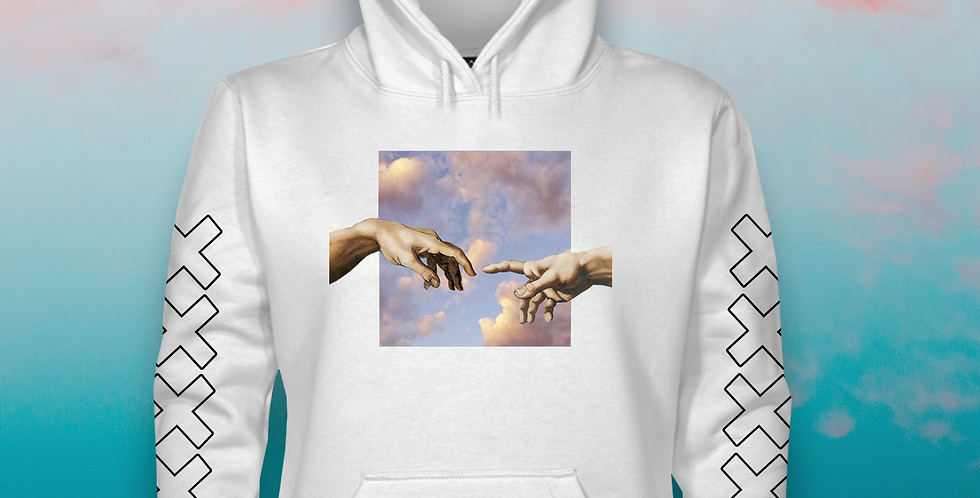 The Connection hoodie (white)