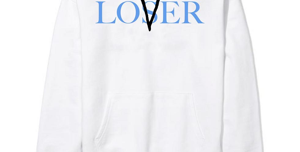 Lovers Vs losers Hoodie (White/Nc)