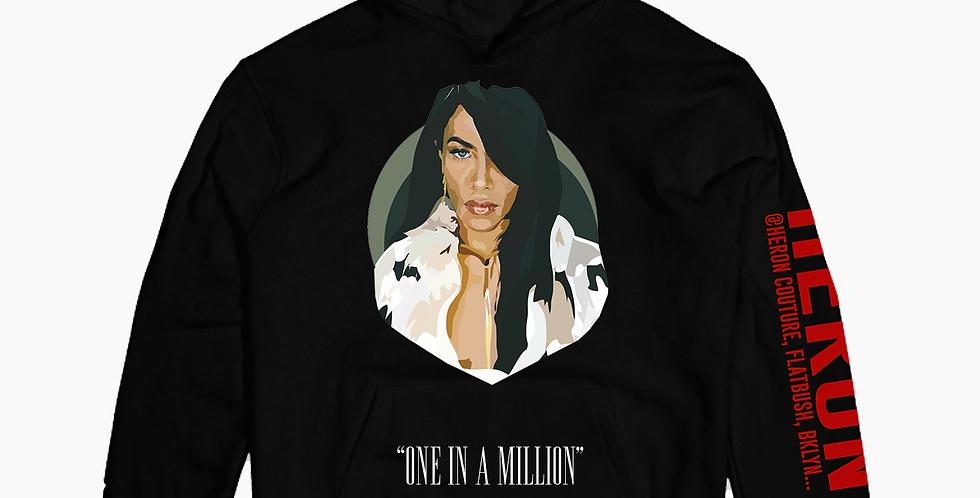 One in a million Hoodie (Black)