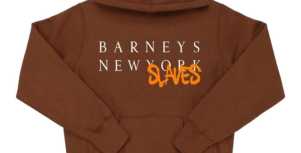 Barneys New Slaves hoodie (chocolate)