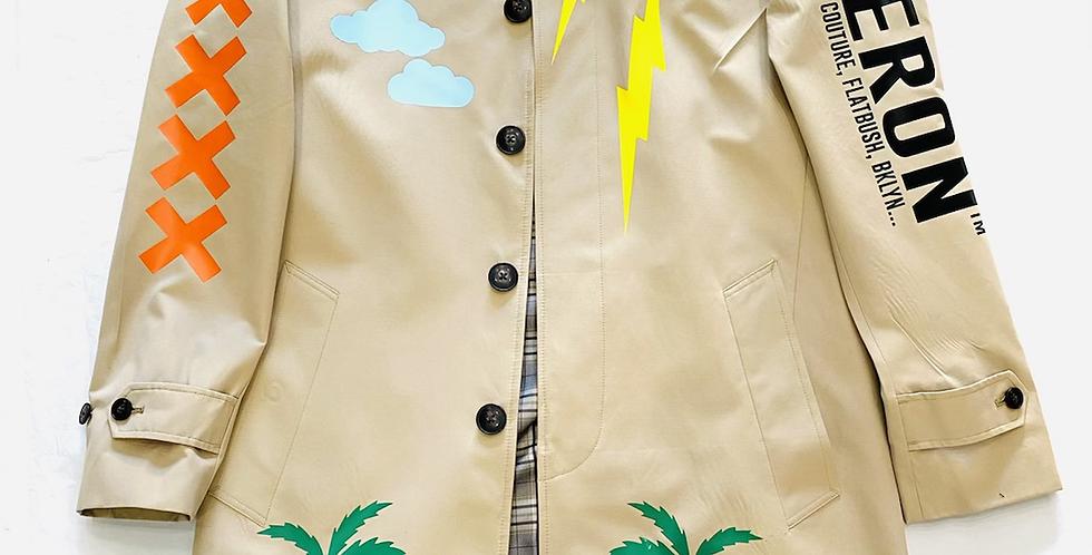 Tsunami Trench Coat (Tan)
