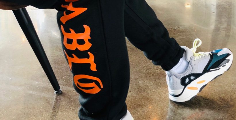 Pablo joggers (orange logo)