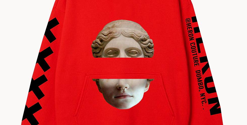 Headless hoodie (Red)