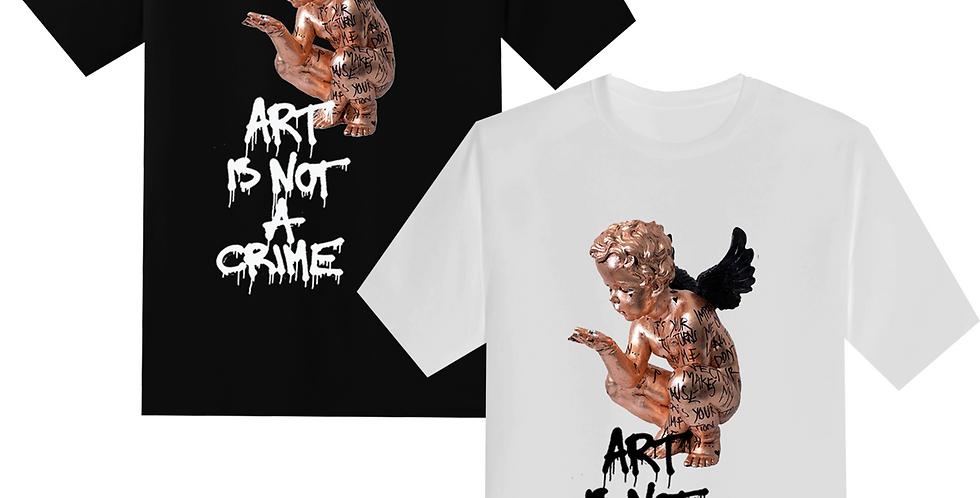 """Art Is Not A Crime """"Angel"""" T-shirt"""