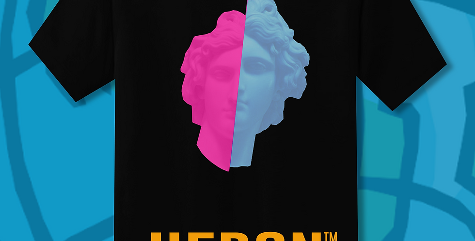 Heron 2 Face T-shirt (Limited Edition)
