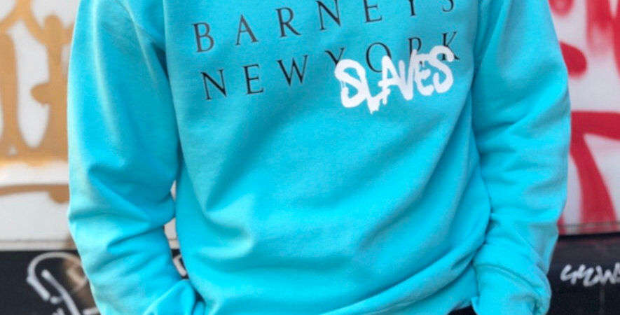 New Slaves Crew neck (teal)