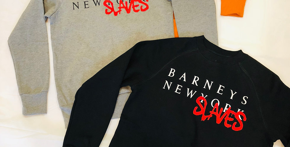 New Slaves crew neck