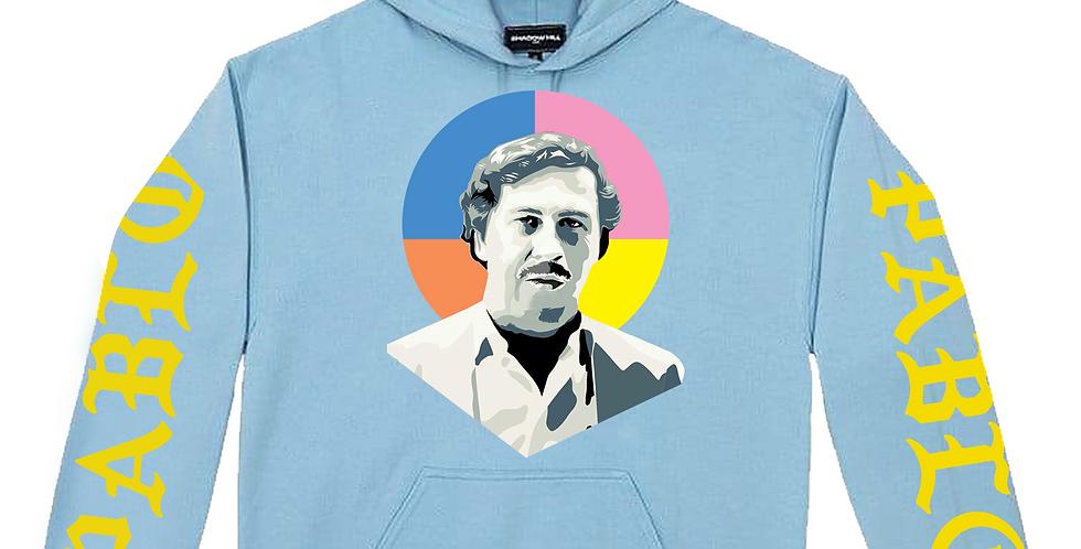 "Pablo ""Tour"" hoodie (powder blue)"