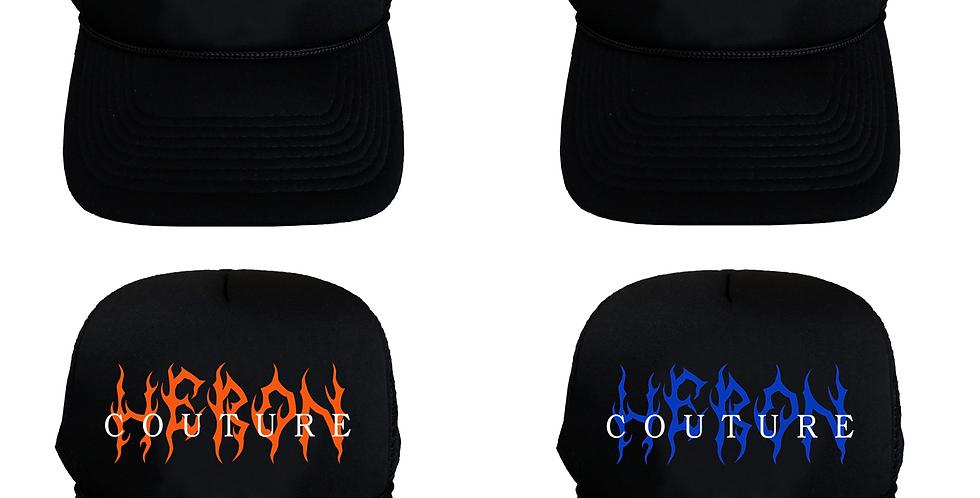 """Heron """"Flames"""" Trucker hat"""