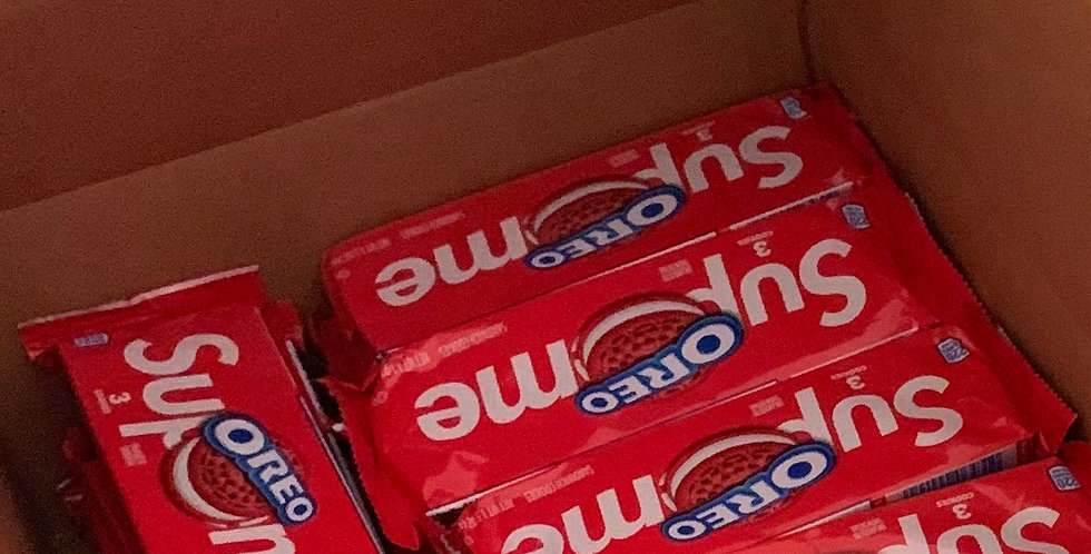 Authentic Supreme Oreo cookies