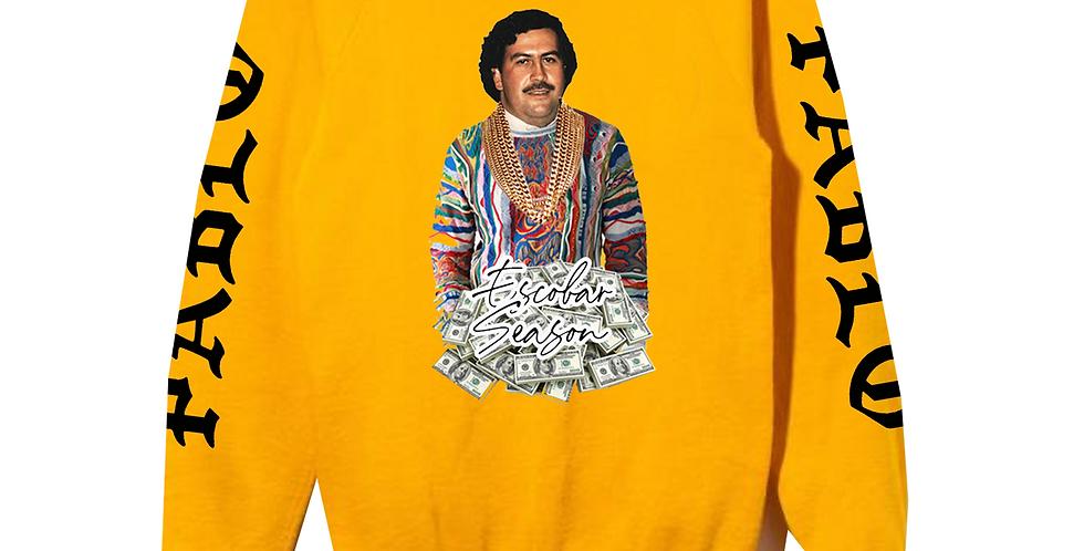 Escobar Season crew neck (Yellow)