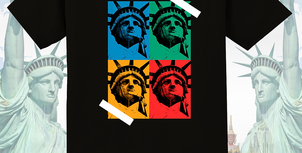 Lady Liberty T-shirt (Black)