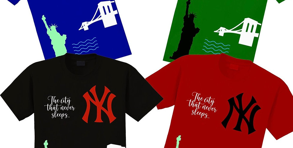 Nyc Liberty T-shirts