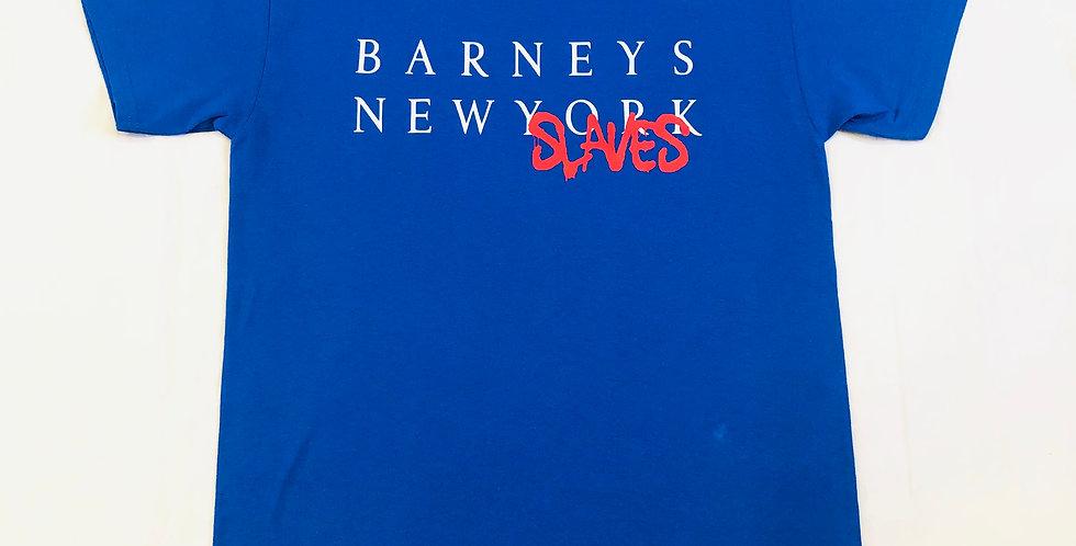 Barneys New slaves t-shirt (Pepsi blue)