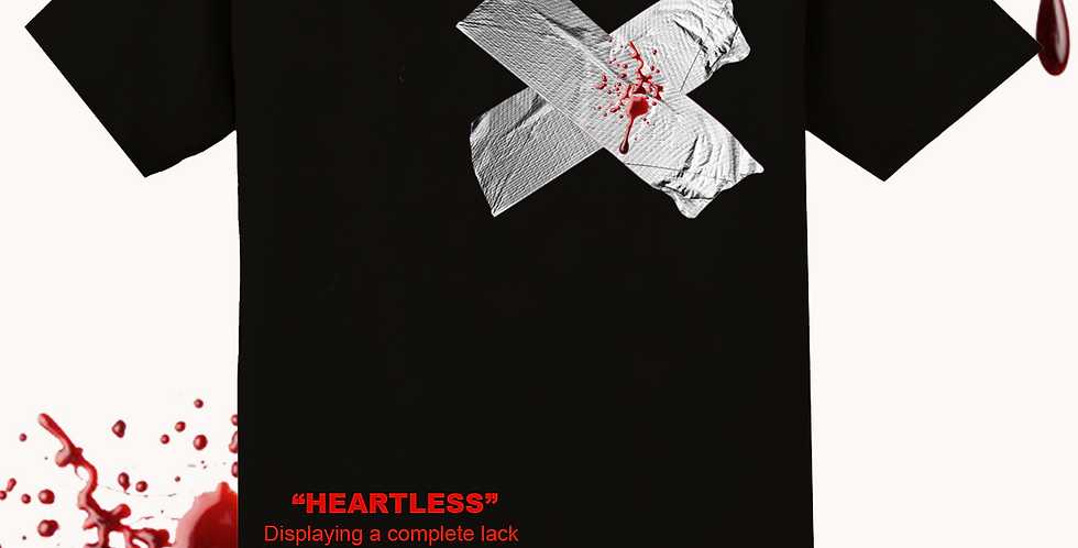Heartless 2 t-shirt