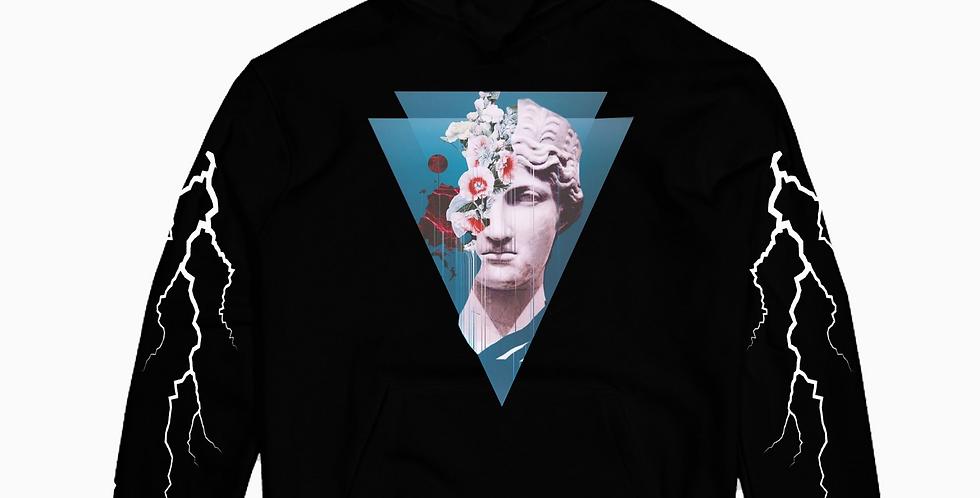 Art of the storm hoodie (Black)