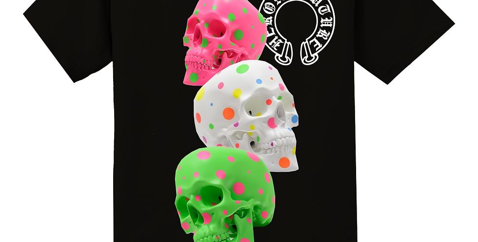 Confetti Skull T-shirt (Black)