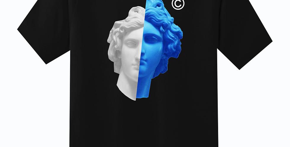 2 Face T-Shirt (Black/Blue)