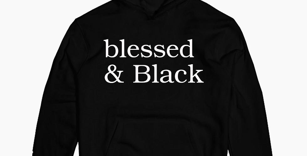 Blessed & Black Hoodie