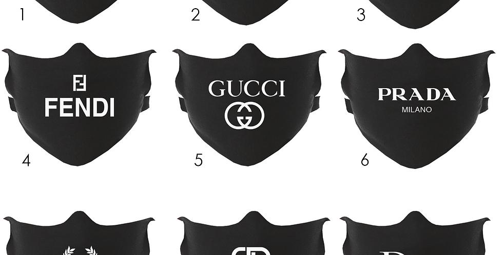 Designer Masks (Black)