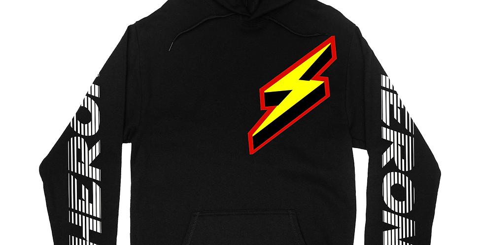 Thunder Bolt Hoodie (Black)