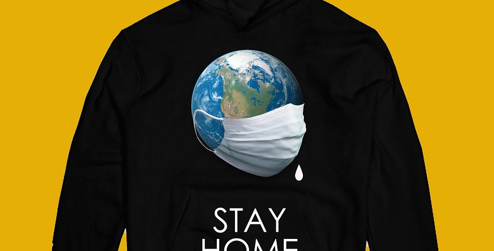 Stay Home Hoodie (Black)